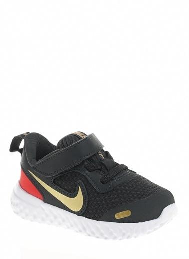 Nike Unisex Çocuk Gri Spor Ayakkabı BQ5673 - 016 NIKE REVOLUTION 5 (TDV) Gri